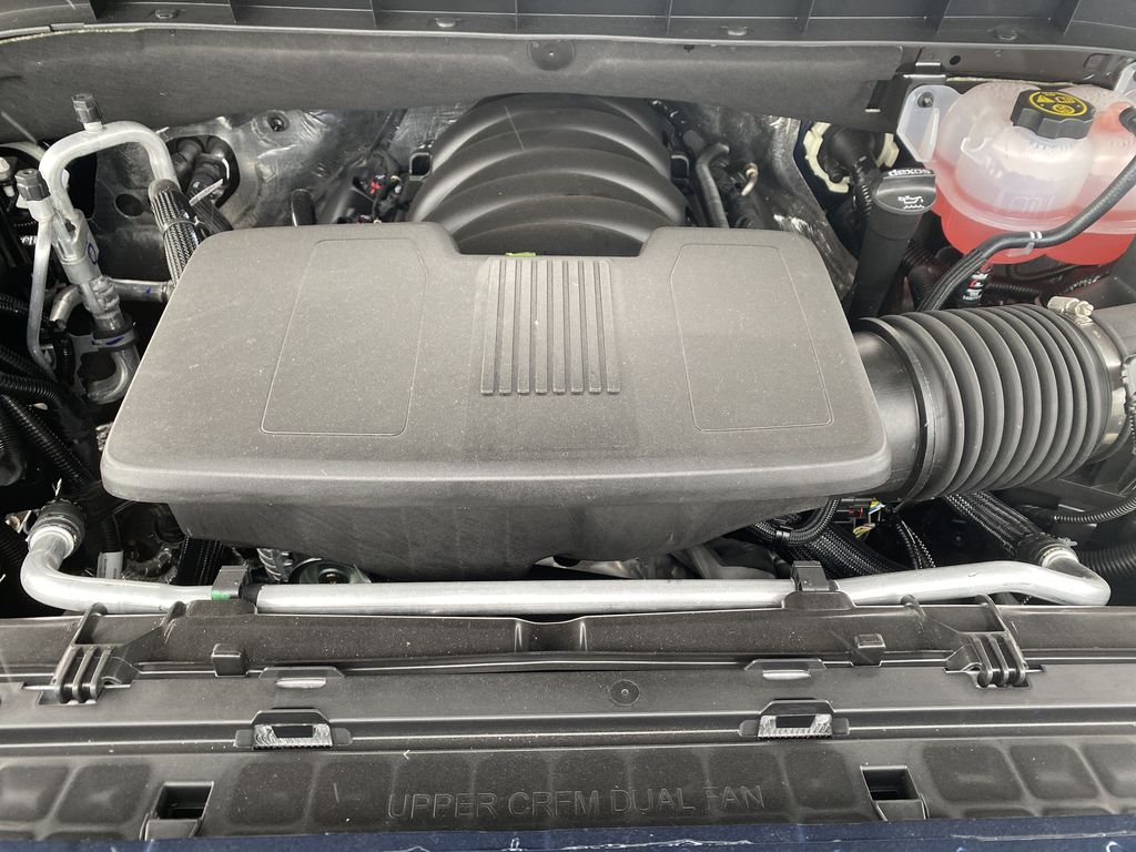Blue[Pacific Blue Metallic] 2021 GMC Sierra 1500 Engine Compartment Photo in Edmonton AB