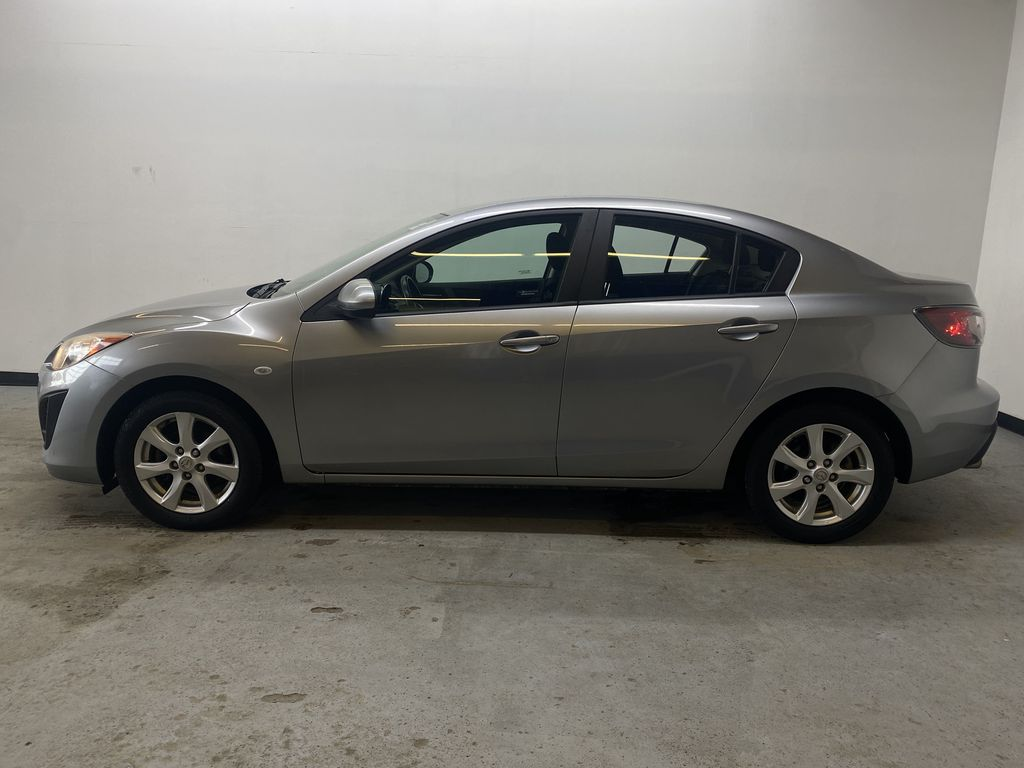 SILVER 2010 Mazda Mazda3 GS - Bluetooth, Cruise Control, Automatic Headlights Left Side Photo in Edmonton AB