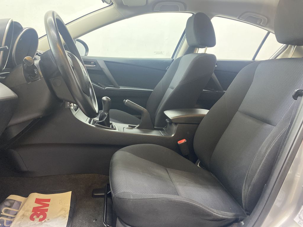 SILVER 2010 Mazda Mazda3 GS - Bluetooth, Cruise Control, Automatic Headlights Left Front Interior Photo in Edmonton AB