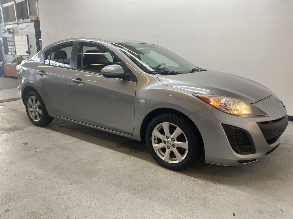 SILVER 2010 Mazda Mazda3 GS - Bluetooth, Cruise Control, Automatic Headlights Right Front Corner Photo in Edmonton AB