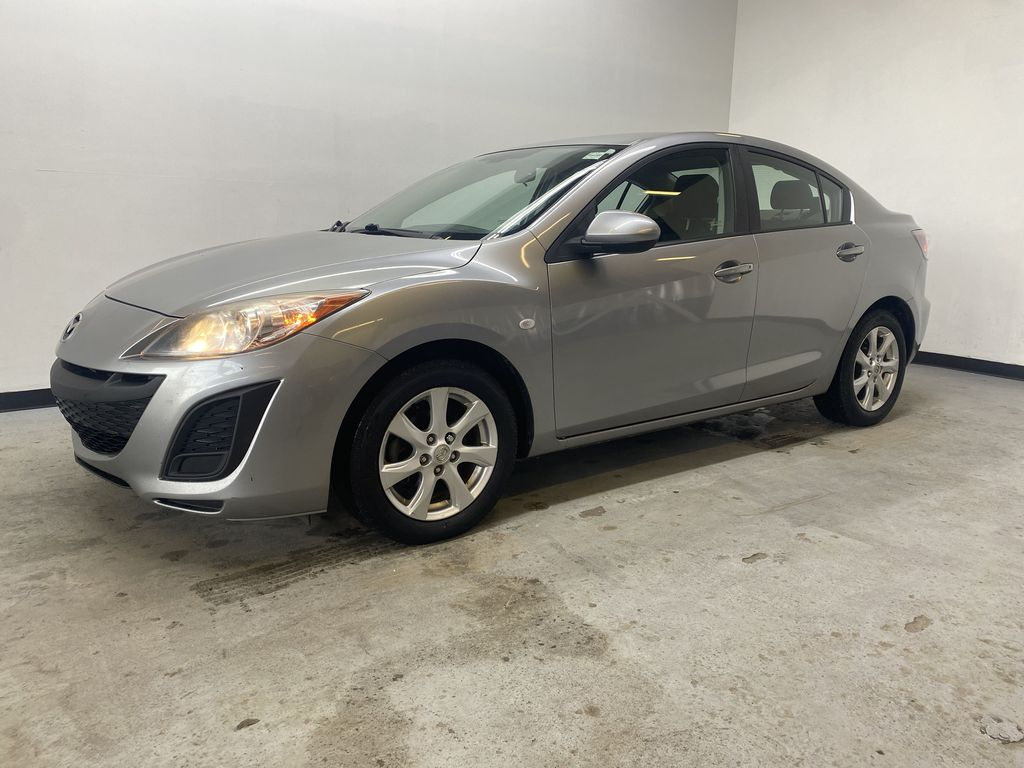 SILVER 2010 Mazda Mazda3 GS - Bluetooth, Cruise Control, Automatic Headlights Left Front Corner Photo in Edmonton AB
