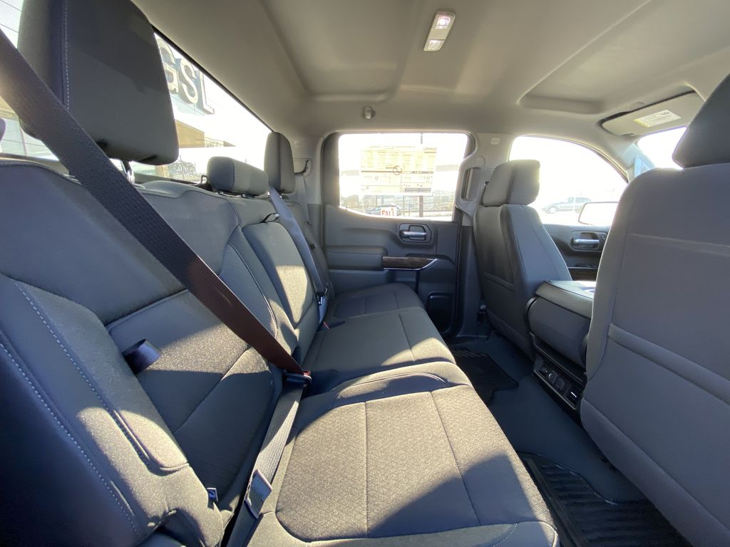White[Summit White] 2021 GMC Sierra 1500 Elevation Right Side Rear Seat  Photo in Calgary AB