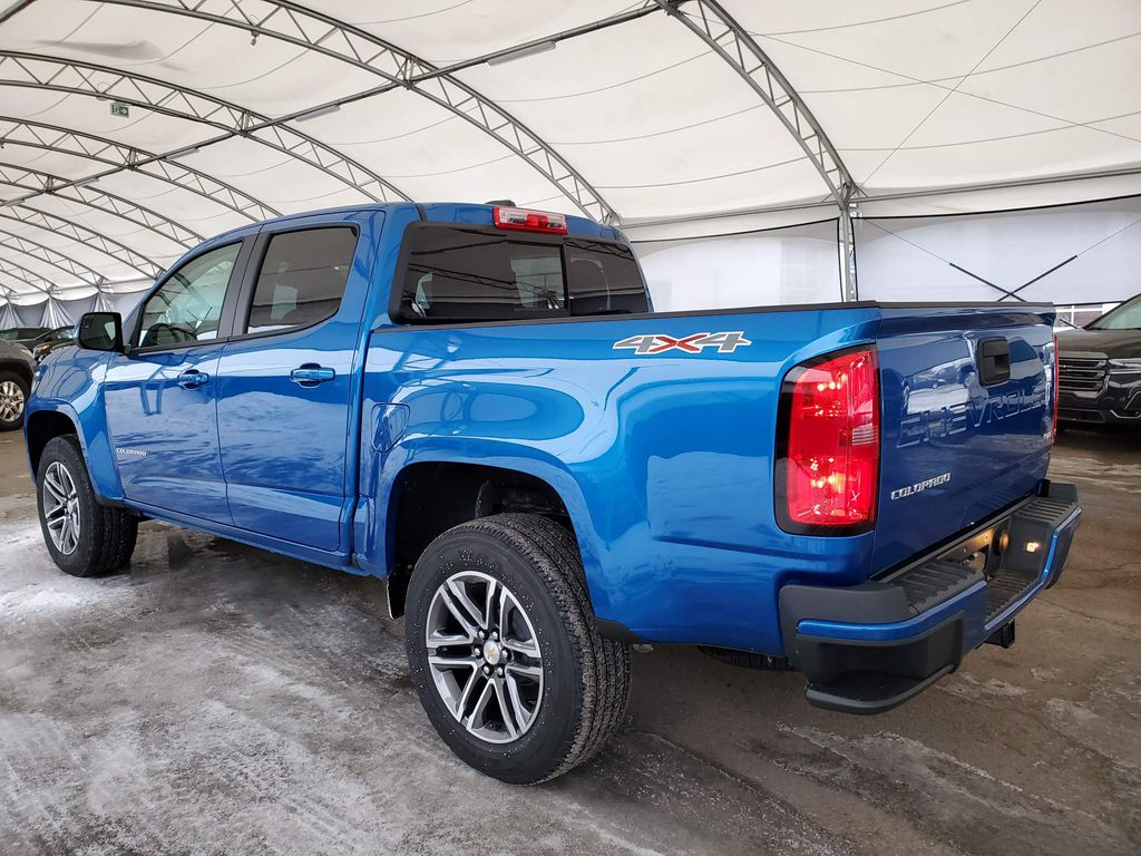 Blue 2021 Chevrolet Colorado Apple Carplay/Android Auto Photo in Airdrie AB