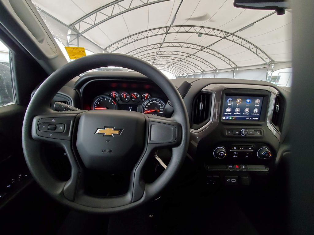 Silver 2021 Chevrolet Silverado 1500 Front Vehicle Photo in Airdrie AB