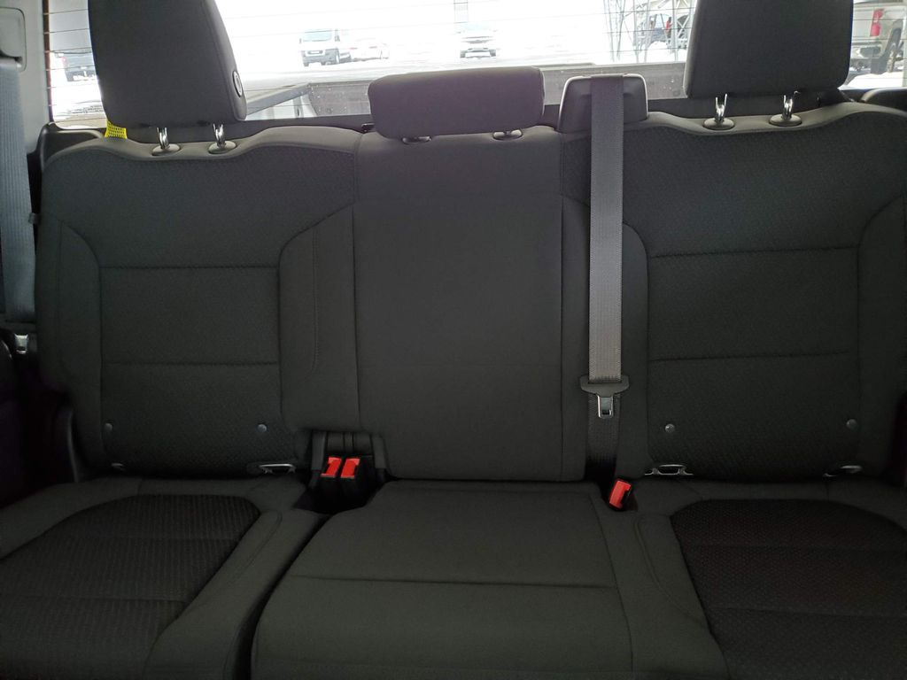 Silver 2021 Chevrolet Silverado 1500 Left Side Rear Seat  Photo in Airdrie AB