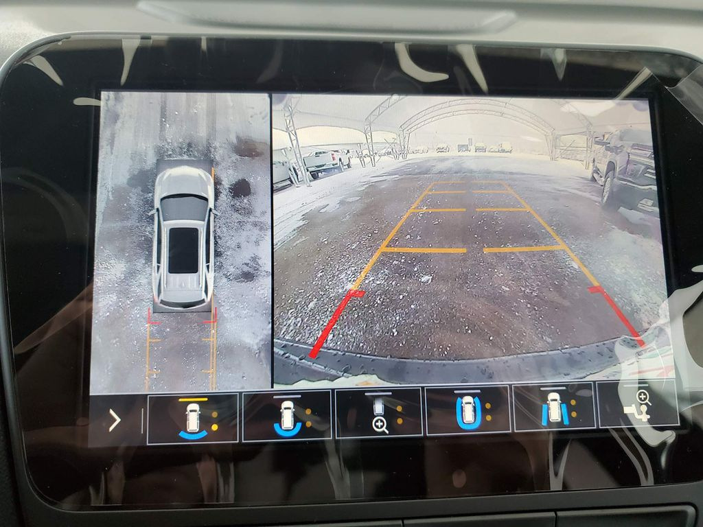 Black 2021 Chevrolet Equinox Left Side Rear Seat  Photo in Airdrie AB