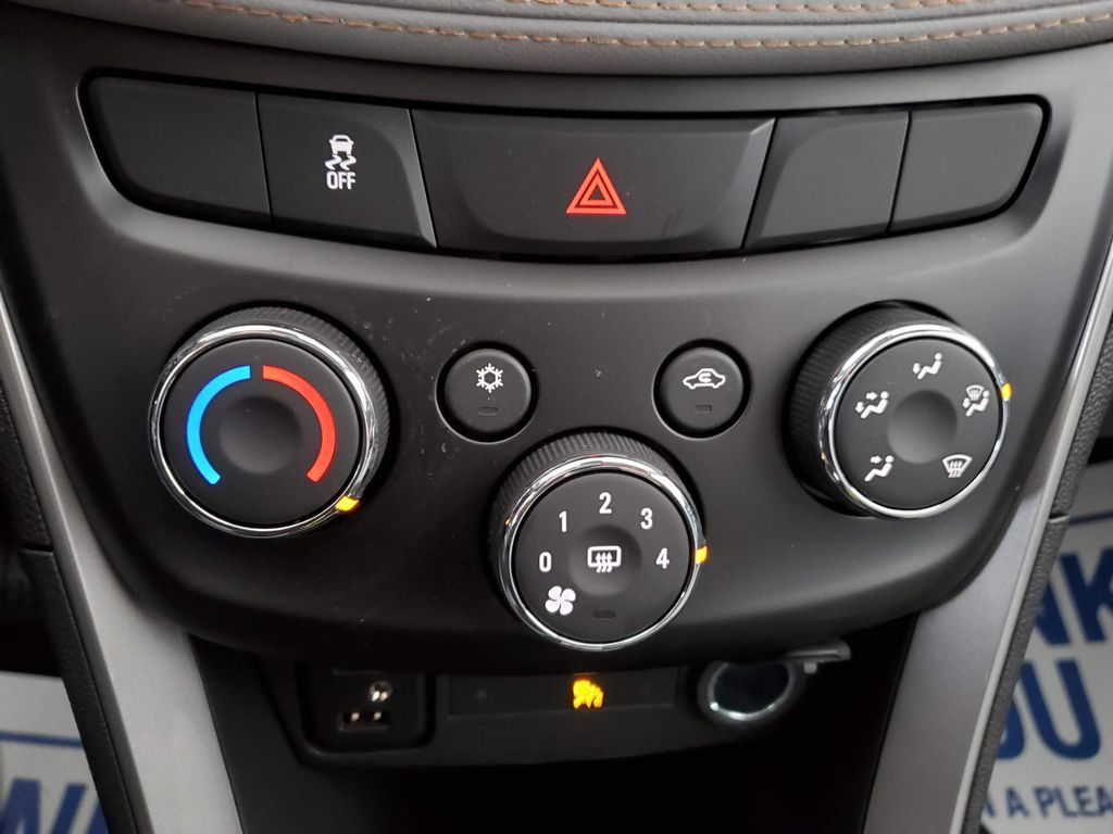White 2021 Chevrolet Trax LR Door Panel Ctls Photo in Airdrie AB