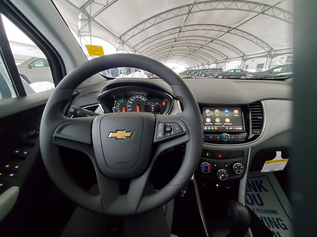 White 2021 Chevrolet Trax Engine Compartment Photo in Airdrie AB