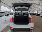White 2021 Chevrolet Trax Navigation Screen Closeup Photo in Airdrie AB
