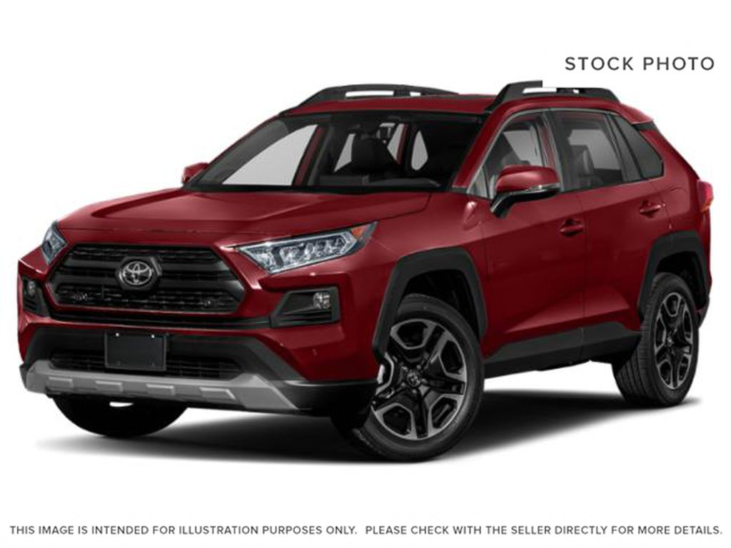 Red[Ruby Flare Pearl] 2021 Toyota RAV4 Trail