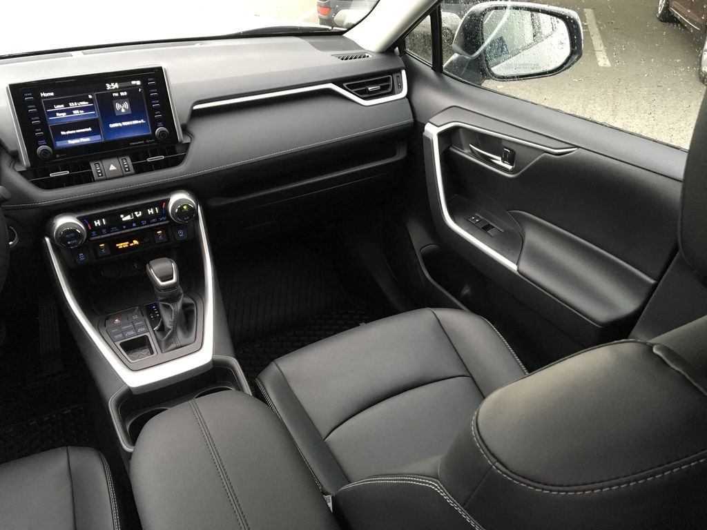 Silver[Silver Sky Metallic] 2021 Toyota RAV4 XLE AWD Right Side Front Seat  Photo in Kelowna BC
