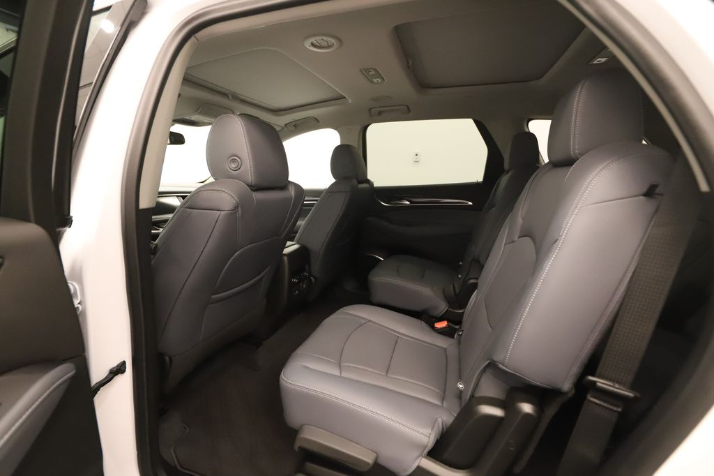 White 2020 Buick Enclave Left Side Rear Seat  Photo in Lethbridge AB