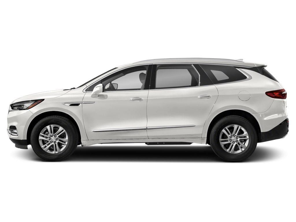 White 2020 Buick Enclave Left Front Corner Photo in Lethbridge AB