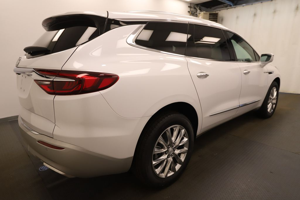 White 2020 Buick Enclave Navigation Screen Closeup Photo in Lethbridge AB