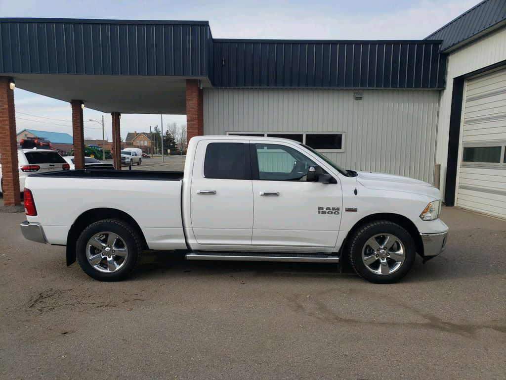 White 2015 Ram 1500 Left Front Interior Photo in Fort Macleod AB