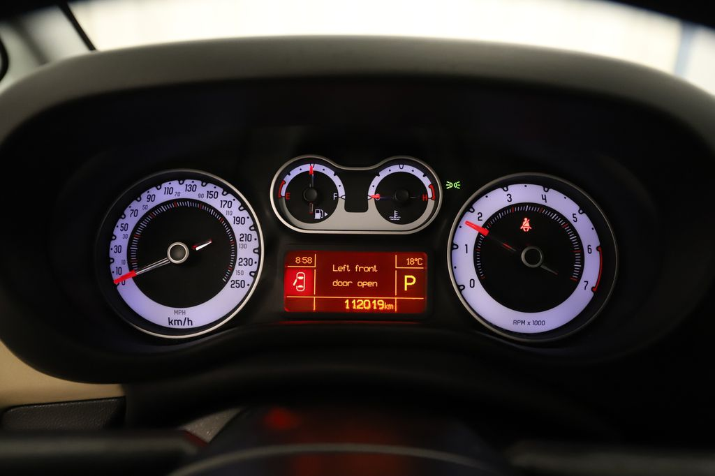 Brown 2014 FIAT 500L Steering Wheel and Dash Photo in Lethbridge AB