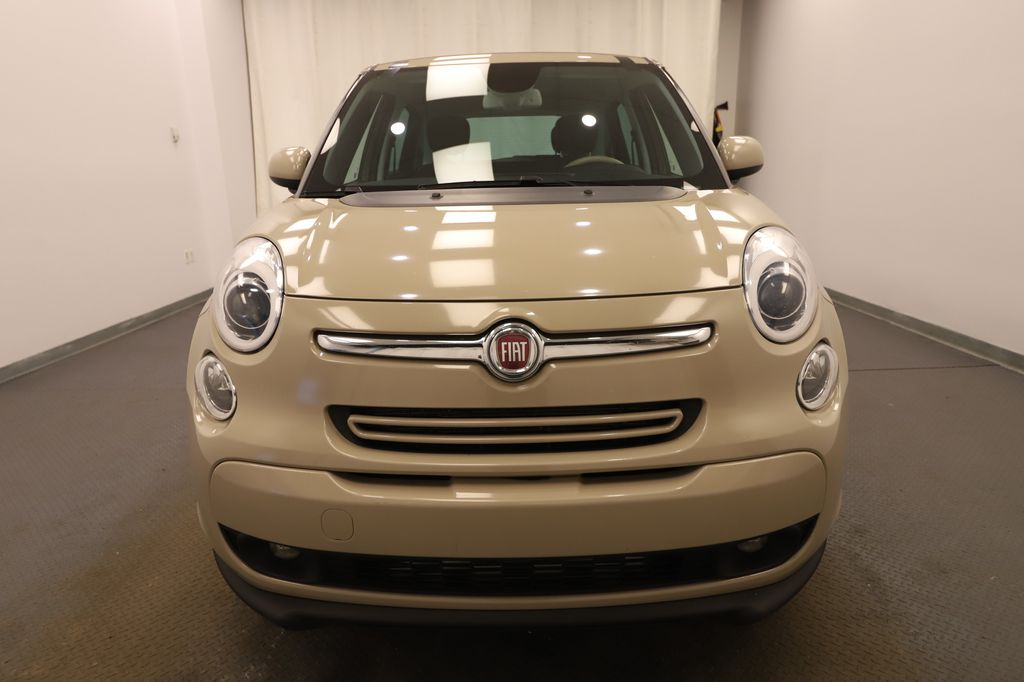 Brown 2014 FIAT 500L Front Vehicle Photo in Lethbridge AB