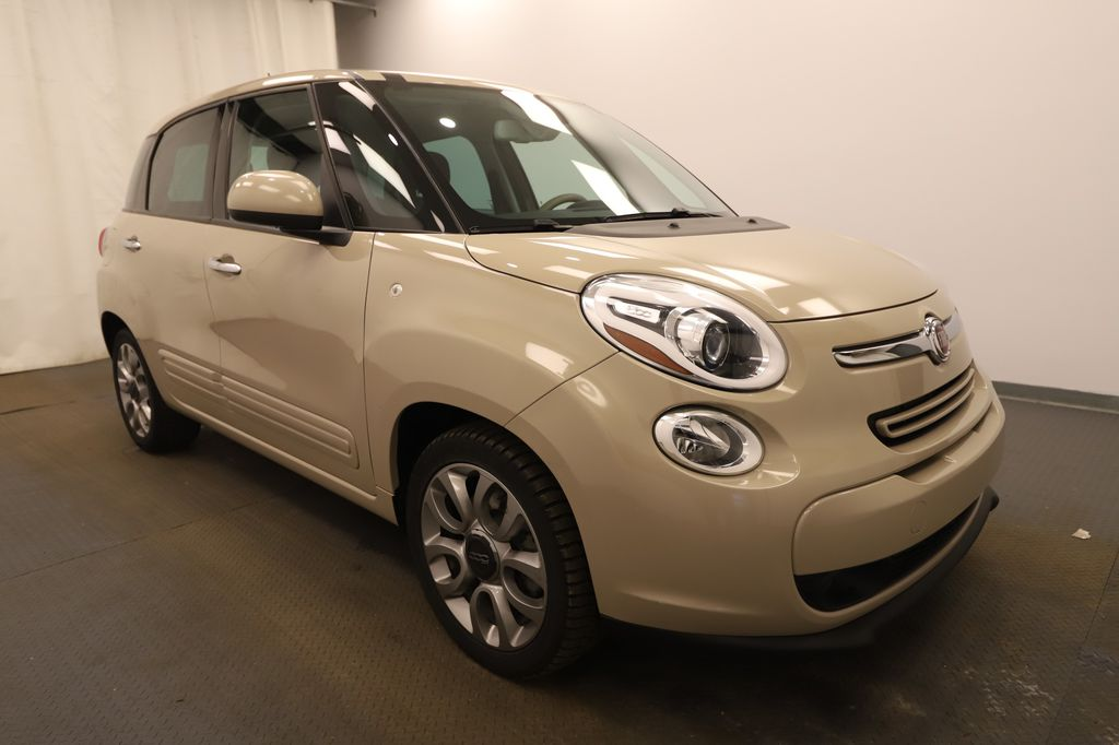 Brown 2014 FIAT 500L Left Front Head Light / Bumper and Grill in Lethbridge AB