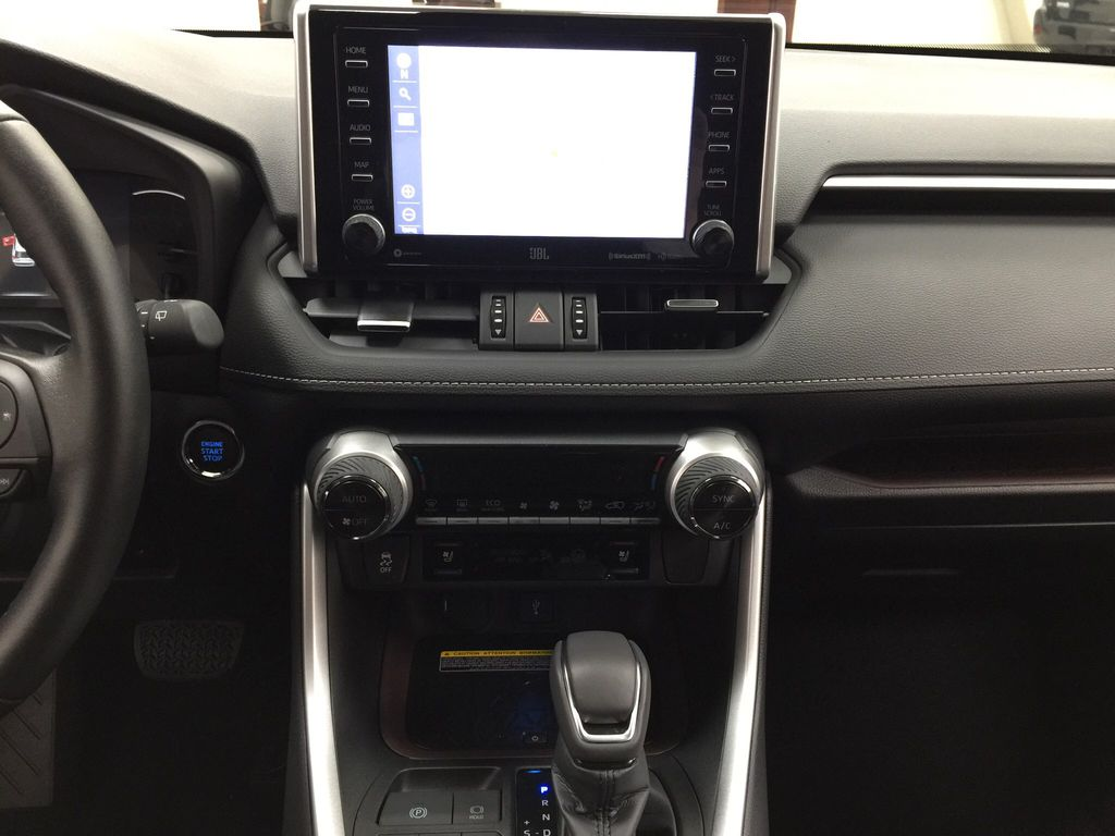 Gray[Magnetic Grey Metallic] 2021 Toyota RAV4 Limited Central Dash Options Photo in Sherwood Park AB