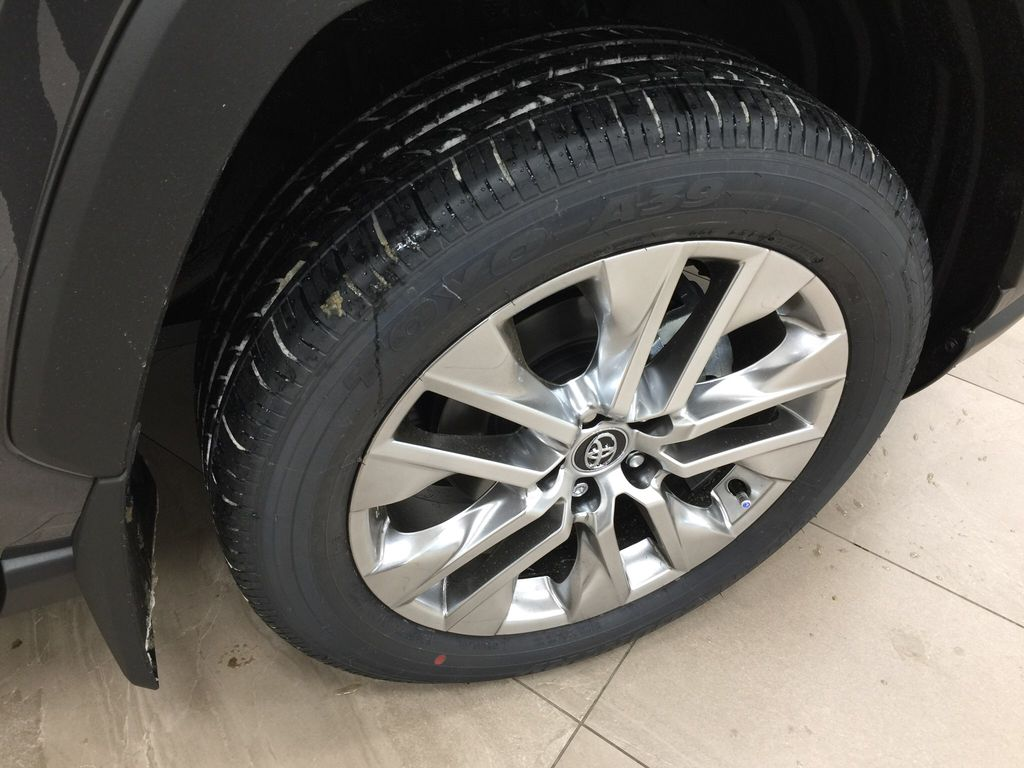 Gray[Magnetic Grey Metallic] 2021 Toyota RAV4 Limited Right Front Rim and Tire Photo in Sherwood Park AB