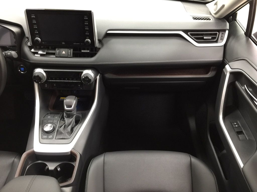 Gray[Magnetic Grey Metallic] 2021 Toyota RAV4 Limited Right Front Seat Photo in Sherwood Park AB