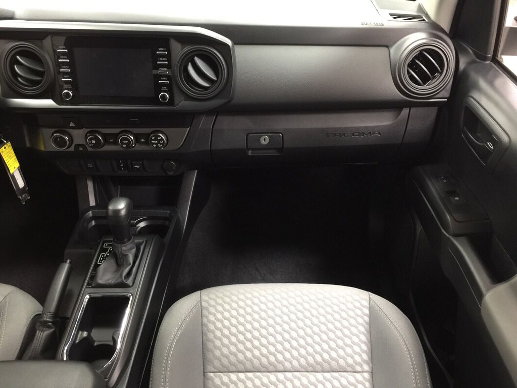 White[Super White] 2021 Toyota Tacoma Right Front Seat Photo in Sherwood Park AB