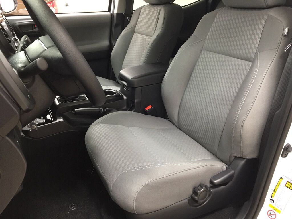 White[Super White] 2021 Toyota Tacoma Left Front Interior Photo in Sherwood Park AB