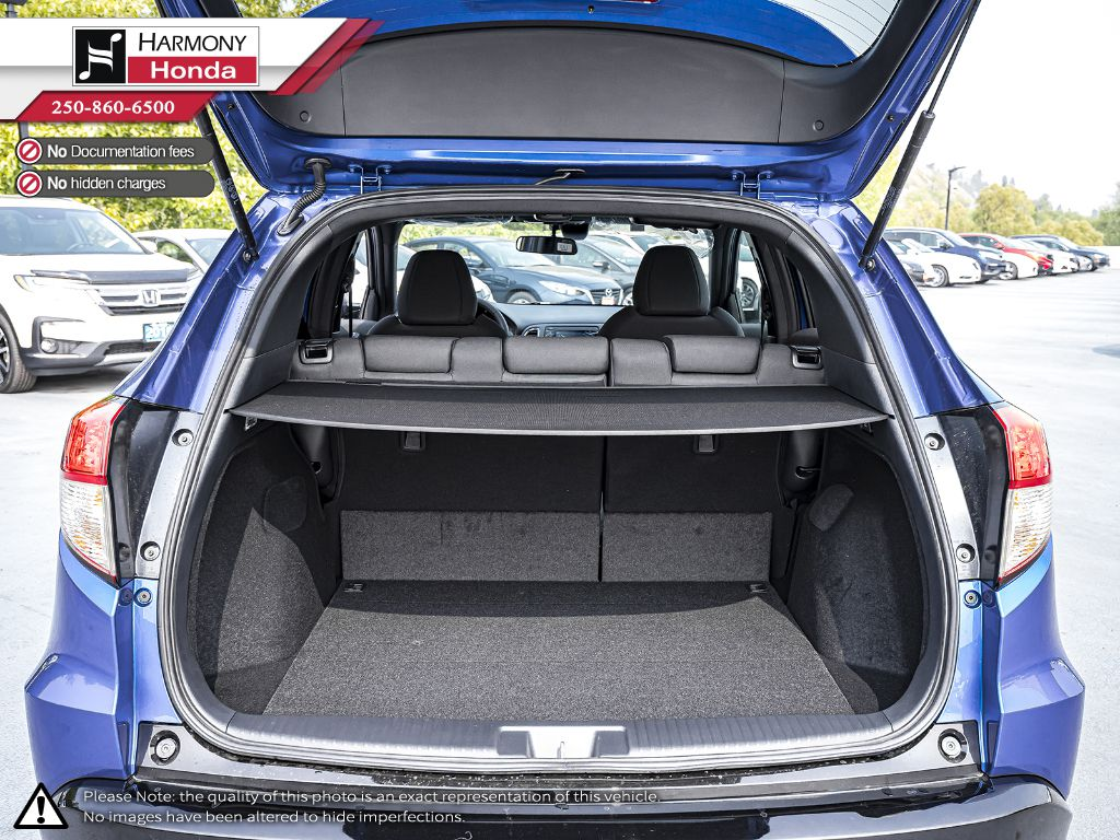 BLUE B-593M 2020 Honda HR-V Rear Seat Photo in Kelowna BC