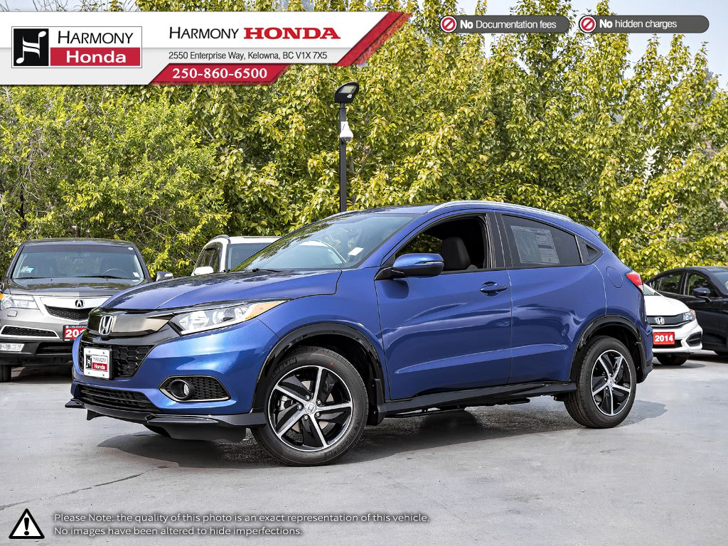 BLUE B-593M 2020 Honda HR-V