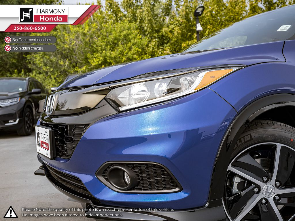 BLUE B-593M 2020 Honda HR-V Left Side Rear Seat  Photo in Kelowna BC
