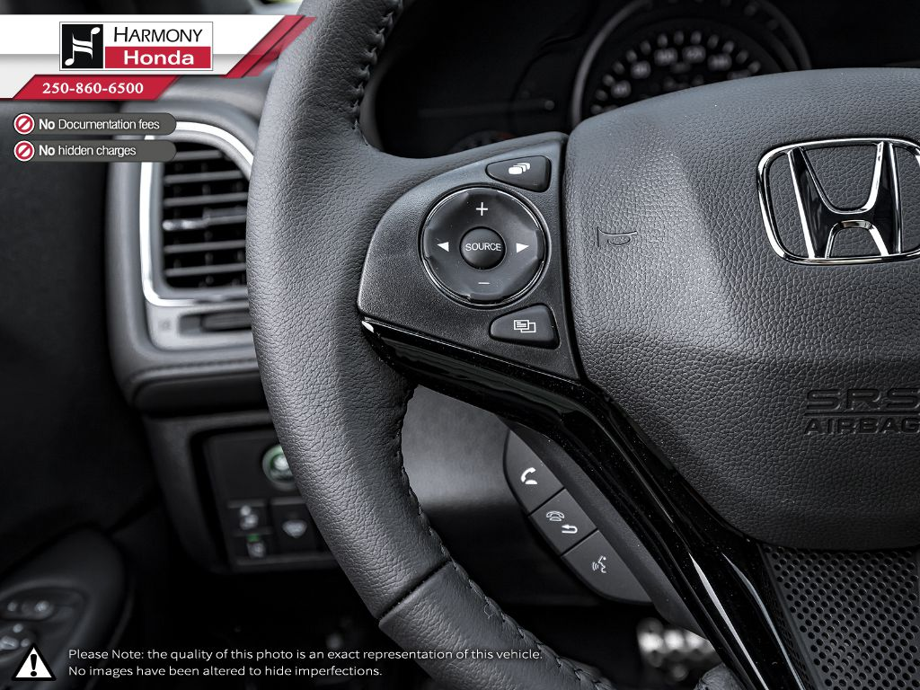 BLUE B-593M 2020 Honda HR-V Central Dash Options Photo in Kelowna BC