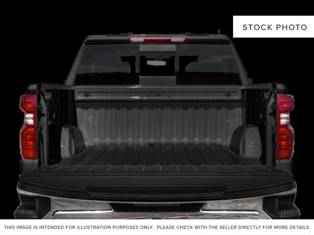 White[Summit White] 2021 Chevrolet Silverado 1500 LT Trail Boss Trunk / Cargo Area Photo in Canmore AB