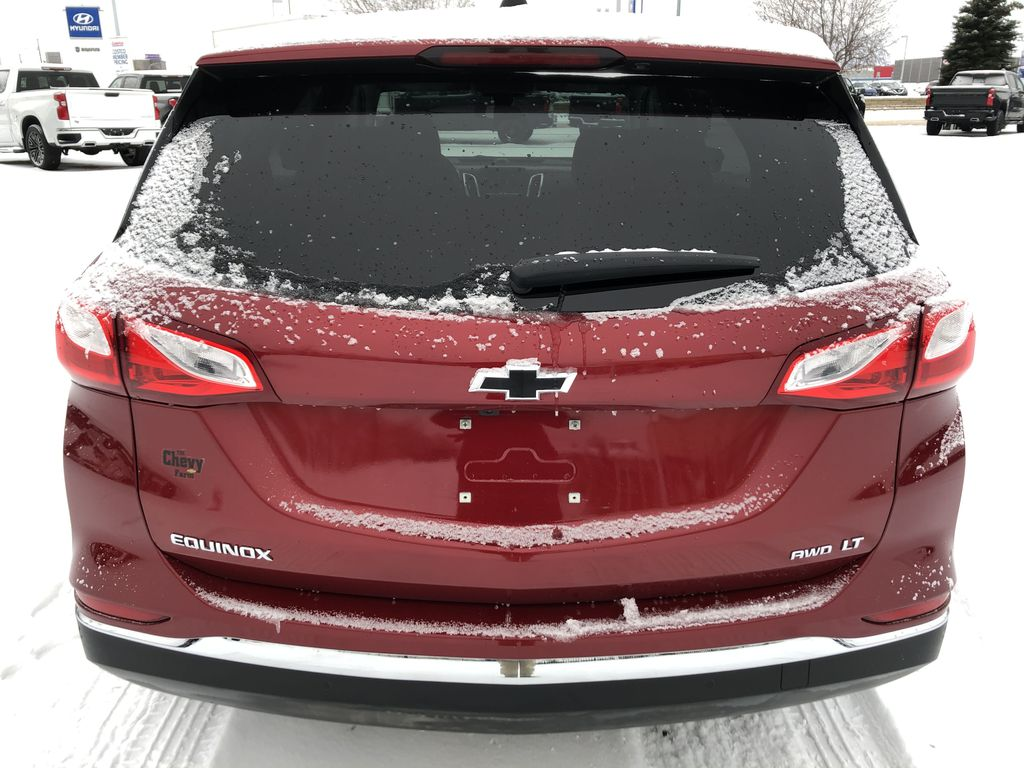 Red[Cajun Red Tintcoat] 2020 Chevrolet Equinox Rear of Vehicle Photo in Edmonton AB