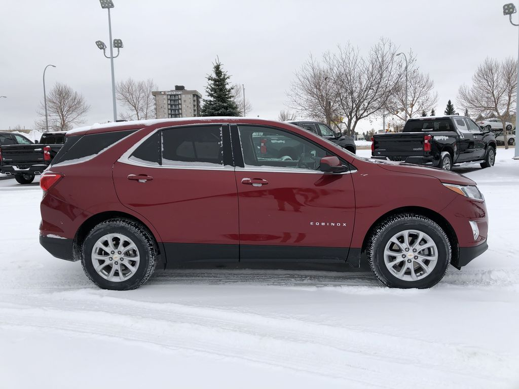 Red[Cajun Red Tintcoat] 2020 Chevrolet Equinox Right Side Photo in Edmonton AB