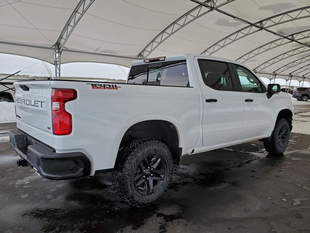 White 2021 Chevrolet Silverado 1500 Right Side Rear Seat  Photo in Airdrie AB