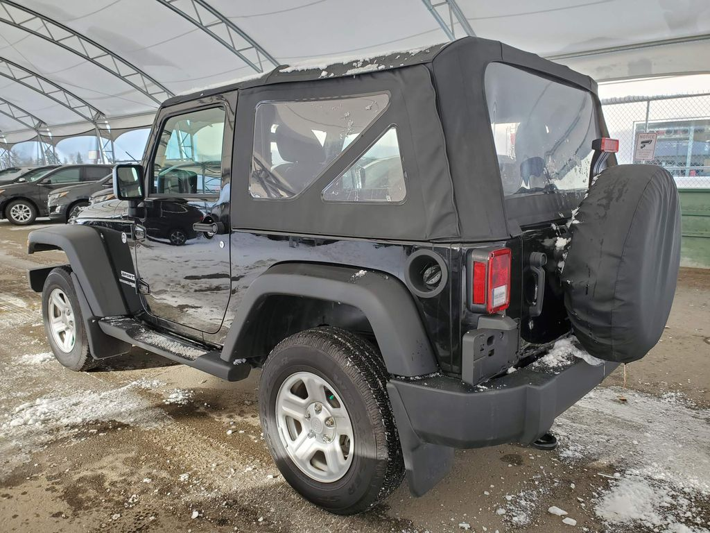 Black 2018 Jeep Wrangler JK Central Dash Options Photo in Airdrie AB