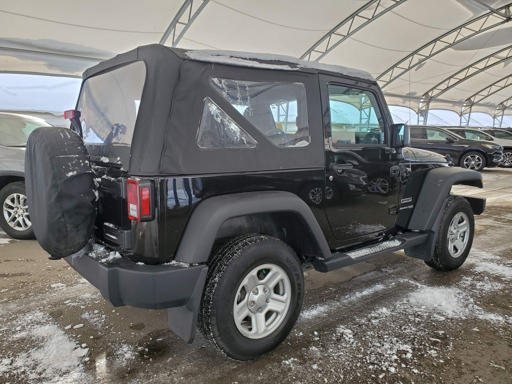 Black 2018 Jeep Wrangler JK Apple Carplay/Android Auto Photo in Airdrie AB