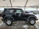 Black 2018 Jeep Wrangler JK Strng Wheel/Dash Photo: Frm Rear in Airdrie AB