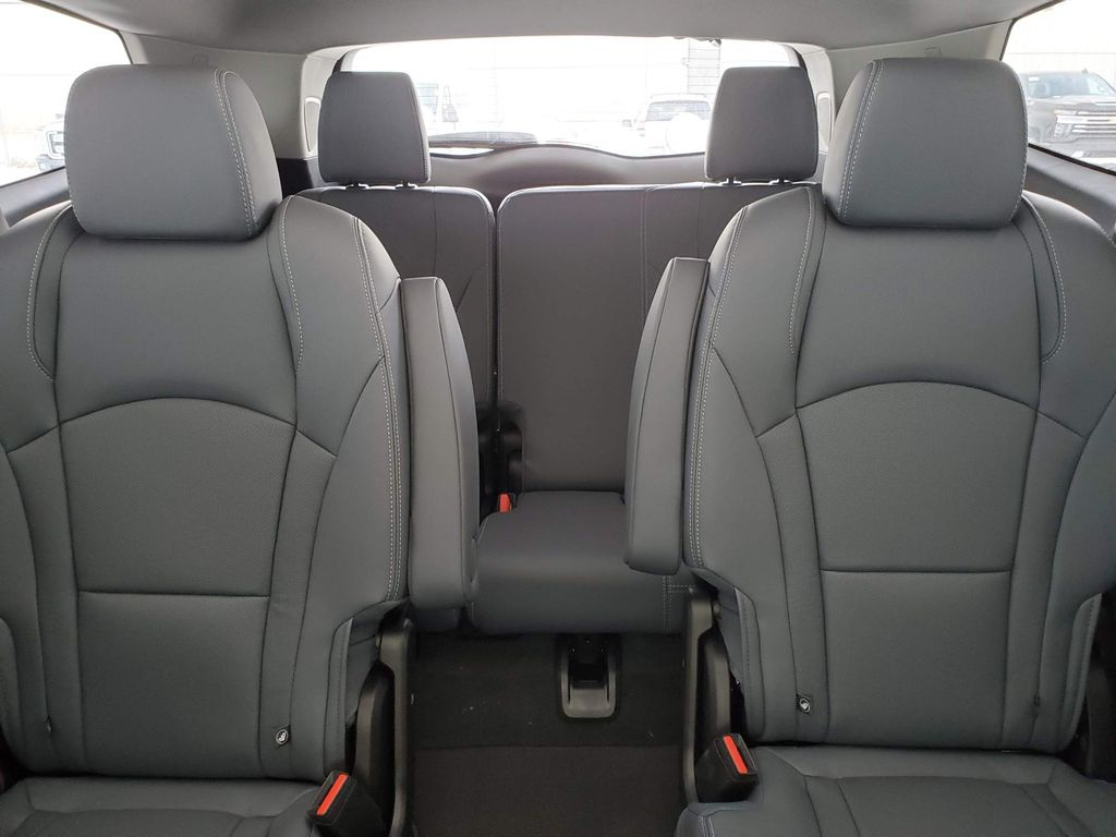 Red 2020 Buick Enclave Steering Wheel and Dash Photo in Airdrie AB