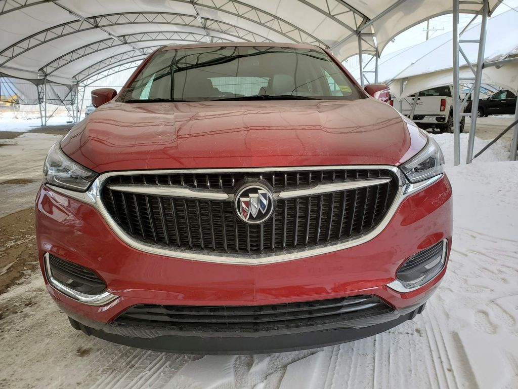 Red 2020 Buick Enclave Left Front Corner Photo in Airdrie AB