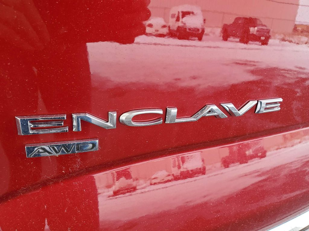Red 2020 Buick Enclave Right Rear Interior Door Panel Photo in Airdrie AB