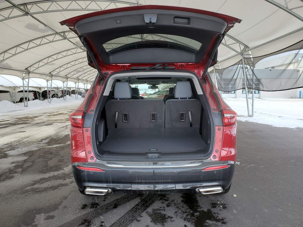 Red 2020 Buick Enclave Rear of Vehicle Photo in Airdrie AB