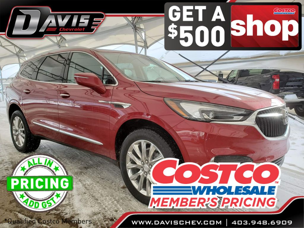 Red 2020 Buick Enclave