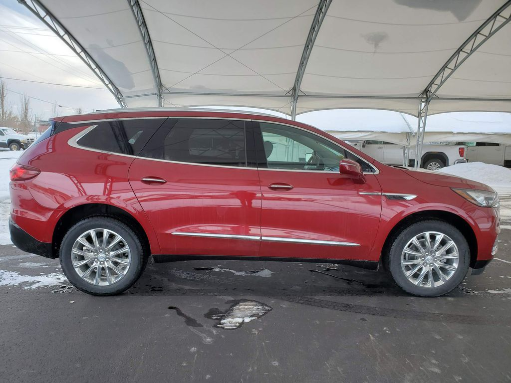 Red 2020 Buick Enclave Right Side Rear Seat  Photo in Airdrie AB