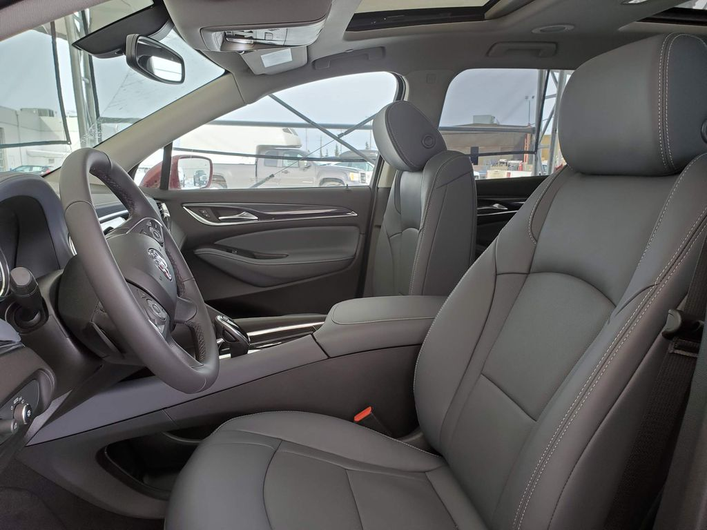 Red 2020 Buick Enclave Left Front Interior Door Panel Photo in Airdrie AB