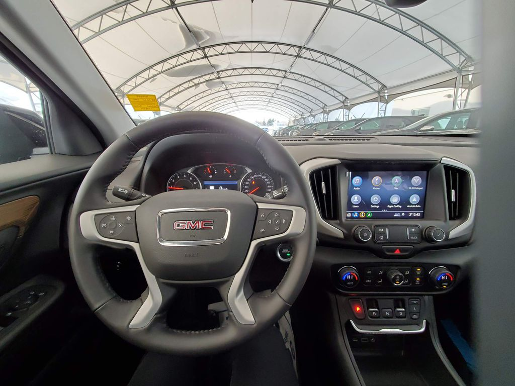 Black 2020 GMC Terrain Engine Compartment Photo in Airdrie AB