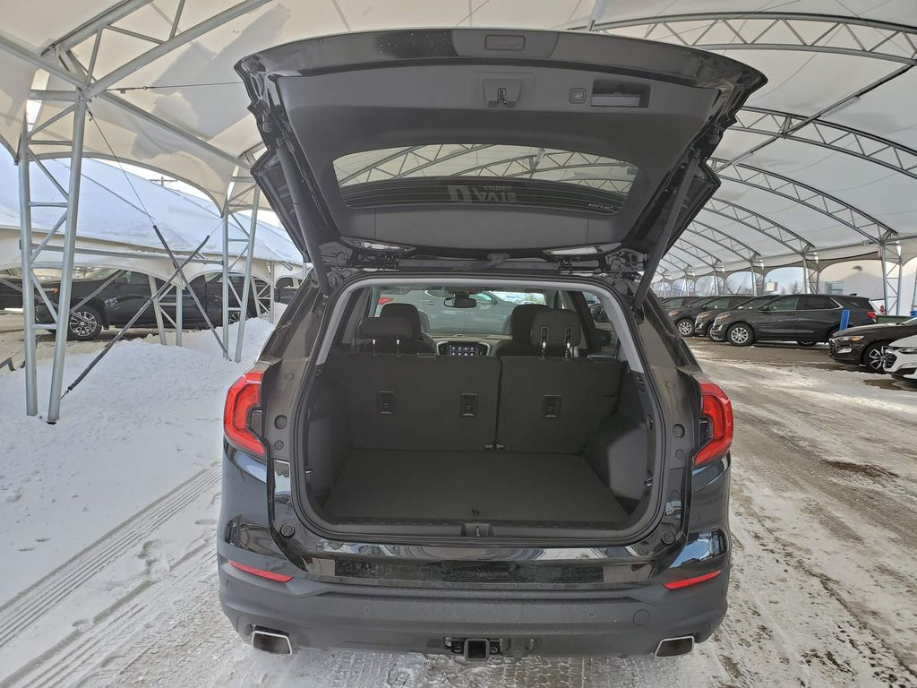 Black 2020 GMC Terrain Rear of Vehicle Photo in Airdrie AB