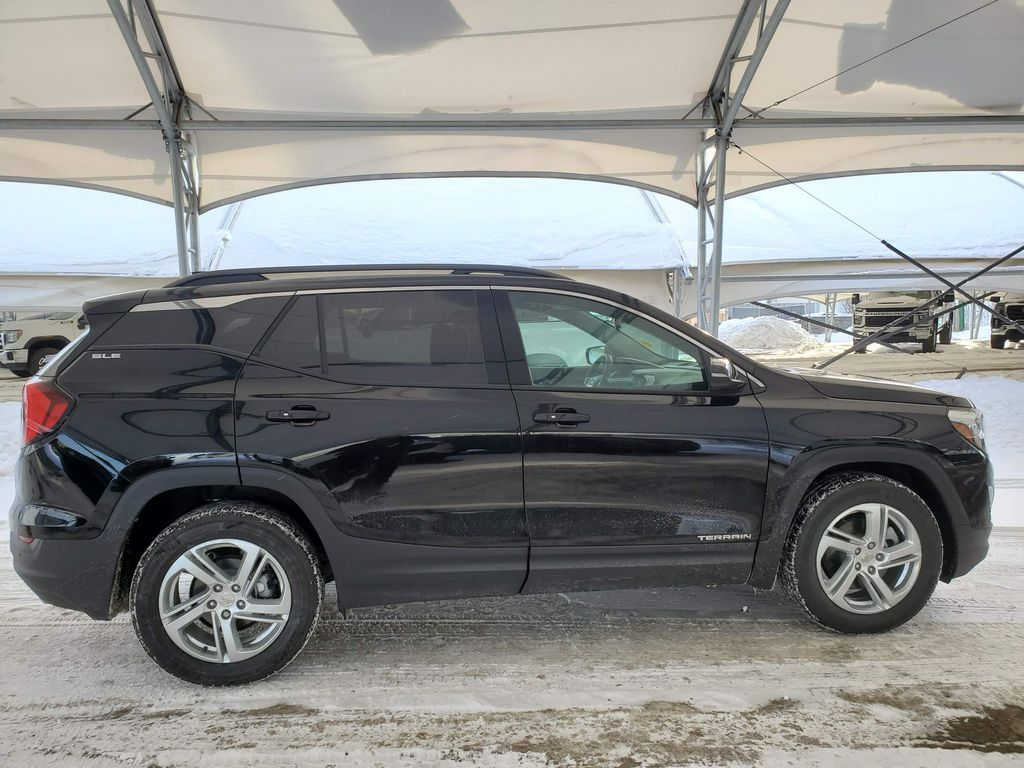 Black 2020 GMC Terrain Right Side Rear Seat  Photo in Airdrie AB