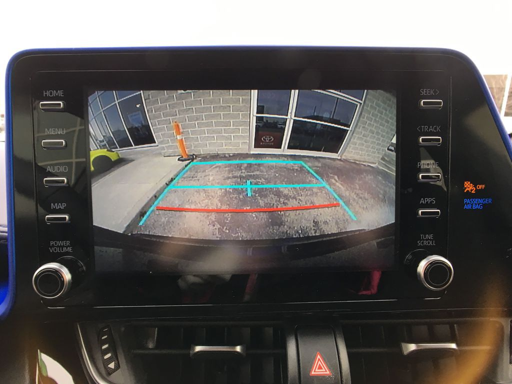 Black[Black Sand Pearl] 2021 Toyota C-HR XLE Premium Package KHMBYC AD Central Dash Options Photo in Brampton ON