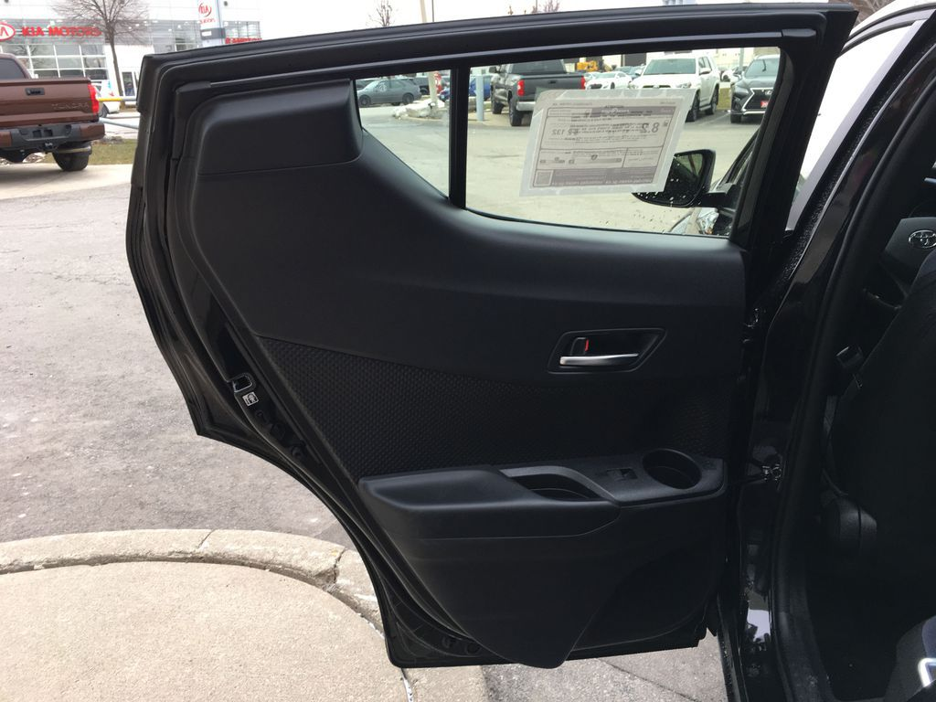 Black[Black Sand Pearl] 2021 Toyota C-HR XLE Premium Package KHMBYC AD Engine Compartment Photo in Brampton ON